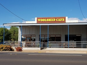 Woolshed Cafe.
