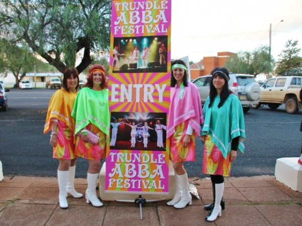 ABBA Festival  Trundle May each year. 2019 date to be advised
