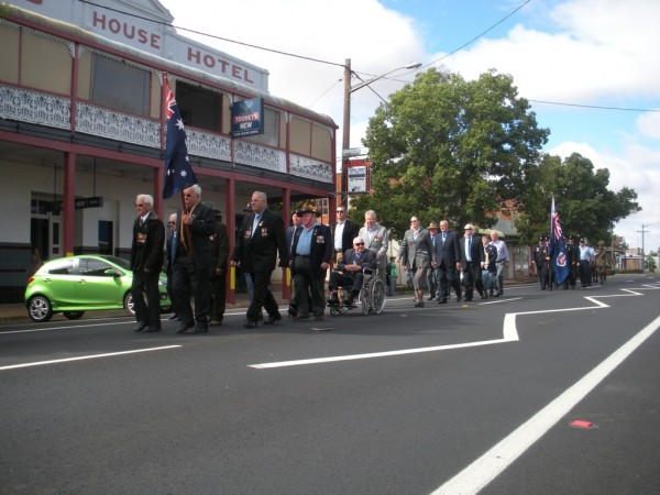Anzac Day celebrations